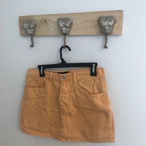 ✨ Orange Sorbet Mini Skirt   Size 30   Fits S-M ✨